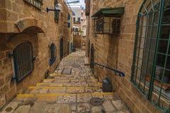 The old narrow streets of Jaffa. Tel Aviv, Stock Photos