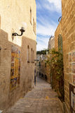 The old narrow streets of Jaffa. Tel Aviv Stock Images