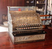 An old National Cash Register Stock Photo