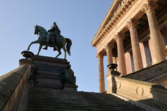Old National Gallery in Berlin Stock Photo