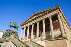 The Old National Gallery in Berlin Stock Photography