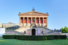 Old National Gallery in Berlin Royalty Free Stock Images