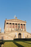 Old National Gallery on Berlin, Germany Royalty Free Stock Images