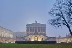 Old National Gallery on Berlin, Germany stock photos