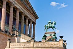 Old National Gallery, Berlin Stock Photos