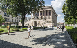 The old national gallery berlin germany europe Stock Image