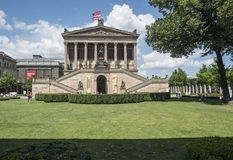 The old national gallery berlin germany europe Stock Photo