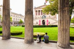 Old National Gallery - Berlin, Germany Royalty Free Stock Photos