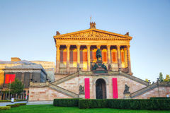 Old National Gallery building in Berlin Royalty Free Stock Photography