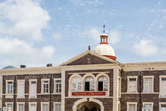 Old National Museum on St Kitts Stock Photos