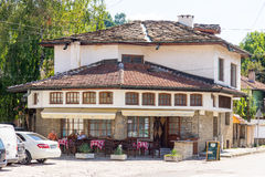 Old National restaurant in Lovech, Bulgaria Stock Photos