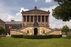 Old Nationalgallery (Alte Nationalgalerie) of Berlin Stock Images