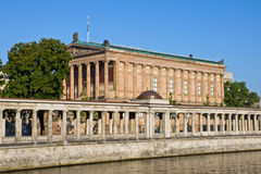 Old Nationalgallery with Colonnades Stock Photo