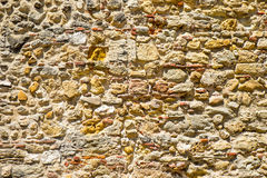 Old natural stonewall Stock Photography