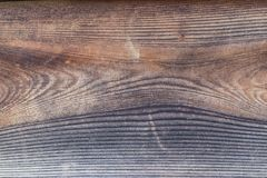 Old natural traditional japanese brown pine wood texture wall as Royalty Free Stock Photo