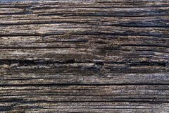 Old natural weathered wood texture wall as texture or background.  Stock Photos