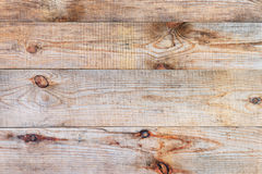 Old natural wooden plank grain background. Royalty Free Stock Image