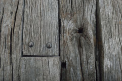 Old natural wooden planks texture Royalty Free Stock Photos