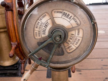 Old Nautical ships control panel Royalty Free Stock Images