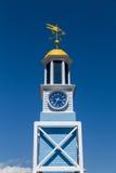 Old Naval Dockyard Clock Stock Photos