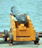 Old Naval Gun Stock Images