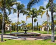 Old Naval Hospital Garden. The Old Naval Hospital Garden in San Diego's Balboa Park Stock Photos