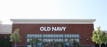Old Navy Brand Clothing Royalty Free Stock Photo