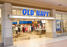 Old Navy boutique Stock Images