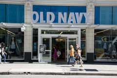 Old Navy clothing store Stock Images
