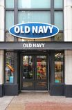 Old Navy fashion Stock Image