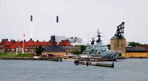 Old Navy Fortress in Copenhagen Stock Photo