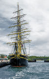 Old navy ship. A photo of an old navy ship in Copenhagen Stock Image