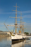 Old Navy Ship in Puerto Madero. Buenos Aires stock image