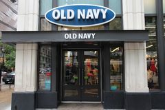 Old Navy store, Chicago Stock Image