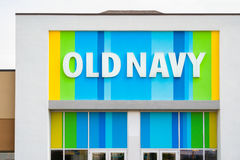 Old Navy Store Royalty Free Stock Photography