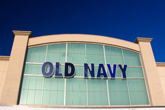 Old Navy Store. SANTA CLARITA, CA/USA - SEPTEMBER 9, 2014:  Old Navy store in Salinas California. Old Navy is a clothing and accessories retailer owned by Stock Images
