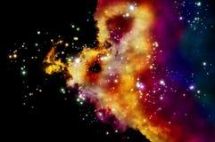 Old nebula Royalty Free Stock Photo