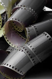 Old neganive  film Stock Image
