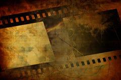 Old negative film strip. An Old negative film strip Royalty Free Stock Images