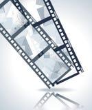 Old negative film strip Stock Photography