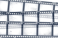 Old negative film strip. Illustration Stock Images