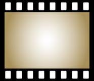 Old negative photo film. Frame of old negative photo film, background Stock Photo