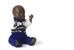 Old negro baby-doll Royalty Free Stock Photography