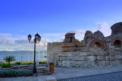 Old Nessebar fortified Wall Royalty Free Stock Image