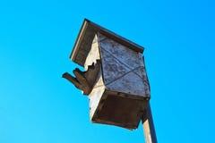 Old nesting-box Stock Photo