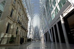 Old and New Architecture BCE Place Royalty Free Stock Image
