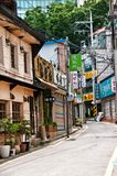 Old and new architecture in downtown Seoul Royalty Free Stock Photos