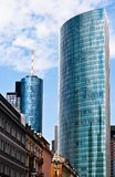 Old and new architecture in Frankfurt. Germany Royalty Free Stock Image