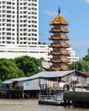 Old and New Bangkok, Thailand Royalty Free Stock Photo