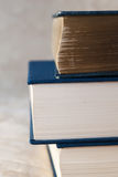 Old and new books Stock Images